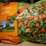 Frozen peas & carrots
