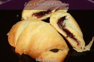 Easy Chocolate Croissant