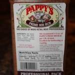 Pappy's prime rib rub