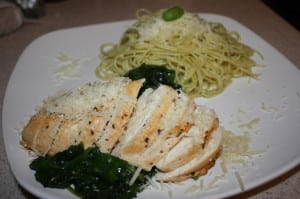 30 Minute Chicken & Spinach Dinner Recipe