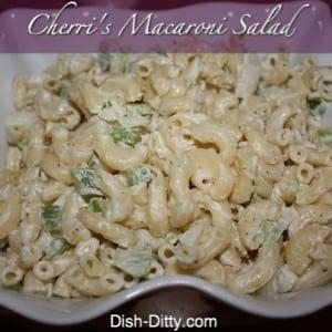 Cherri's Macaroni Salad Recipe