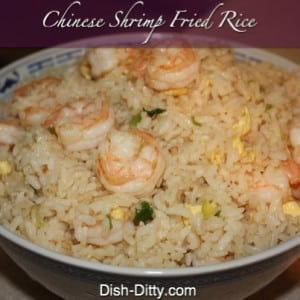 Chinese Shrimp Fried Rice