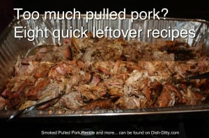 Too much pulled pork? by Dish Ditty