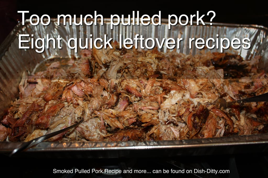 Pulled pork recipes for leftovers