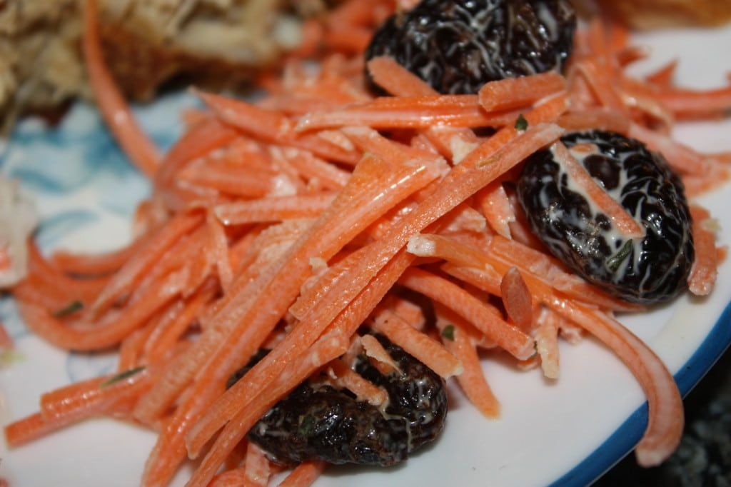 Carrot Cherry Salad