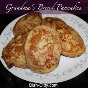 Bread Pancakes