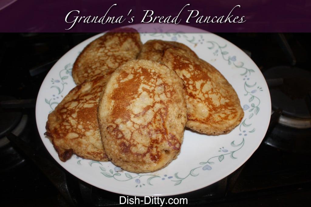 Grandma's Bread Pancakes