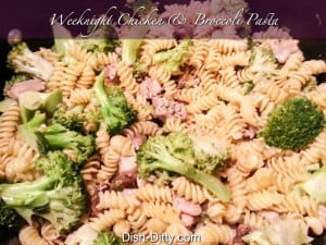 Chicken & Broccoli Pasta
