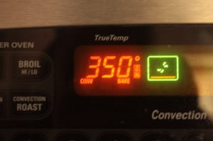 Preheat oven to 350 degrees