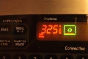 Roast at 325 degrees