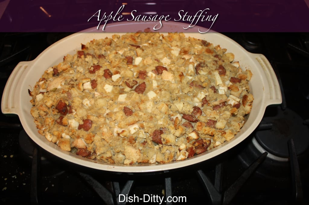Chicken & Apple Sausage Stuffing