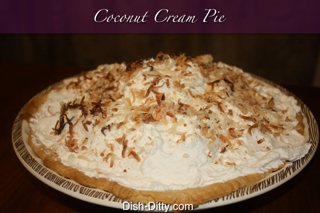 ... coconut cream pie recipe rich creamy coconut i love coconut cream pie