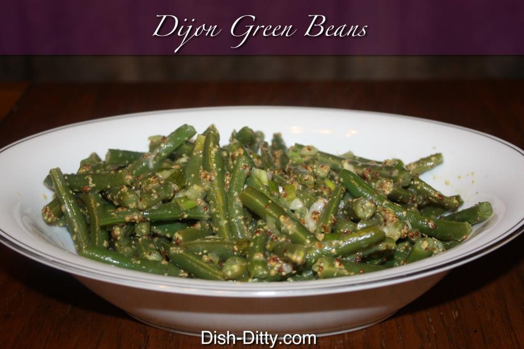 Dijon Green Beans
