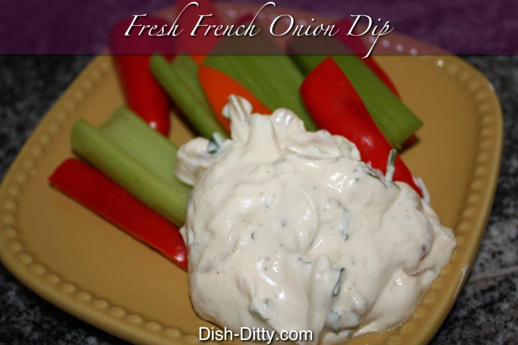 Fresh French Onion Dip