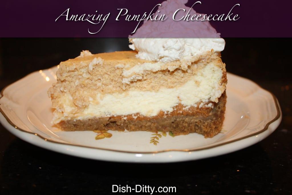 Amazing Pumpkin Cheesecake
