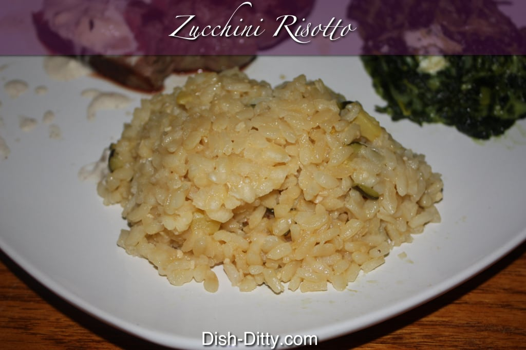 Zucchini Risotto Recipe – Dish Ditty Recipes