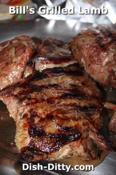 Bill's Grilled Lamb by Dish Ditty Recipes