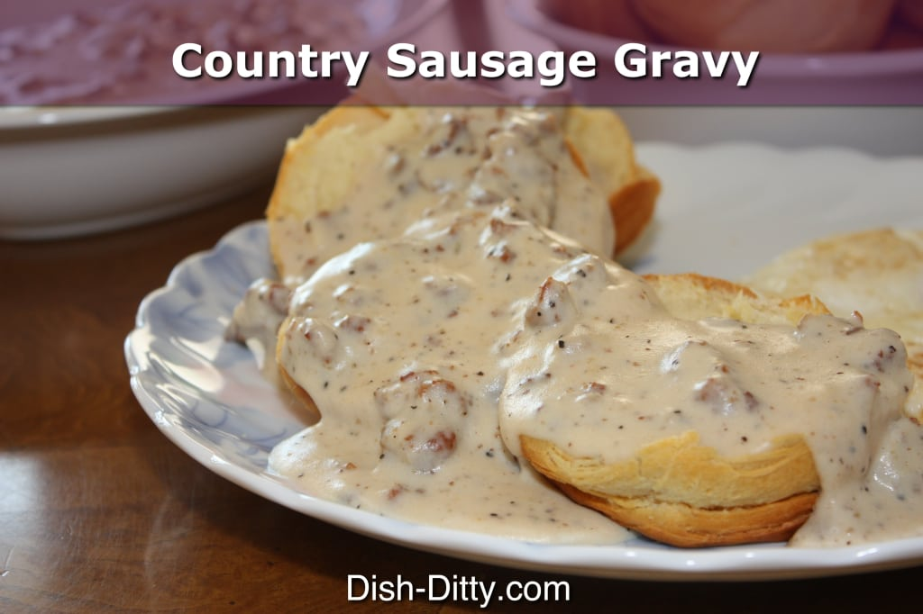 Country Sausage Gravy by Dish Ditty