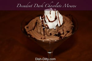 Decadent Dark Chocolate Mousse Recipe (no raw eggs)