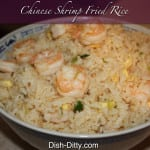 Chinese Shrimp Fried Rice Recipe