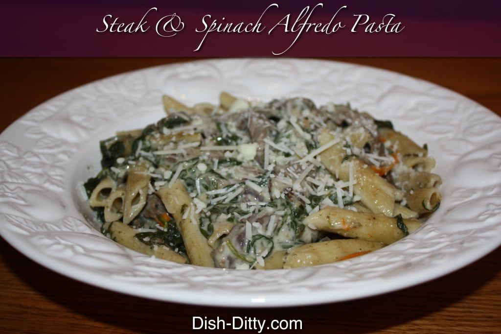 Steak & Spinach Alfredo