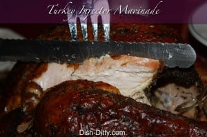 Turkey Injector Marinade Recipe