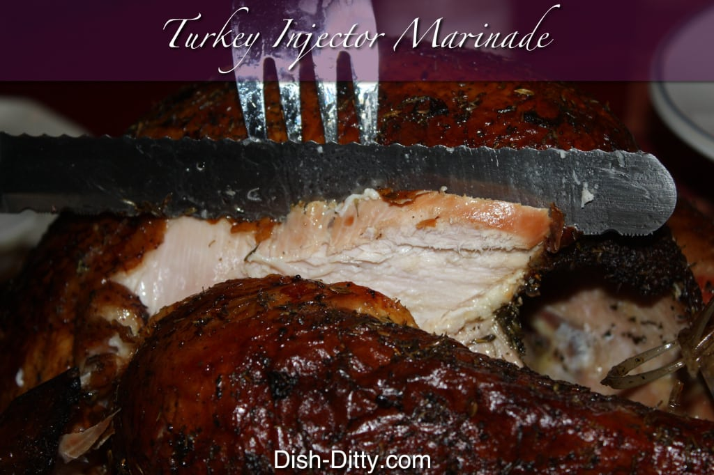 Turkey Injector Marinade