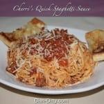 Cherri's Quick Spaghetti Sauce by Dish Ditty