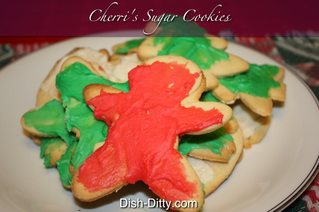 Cherri's Rolled Sugar Cookies