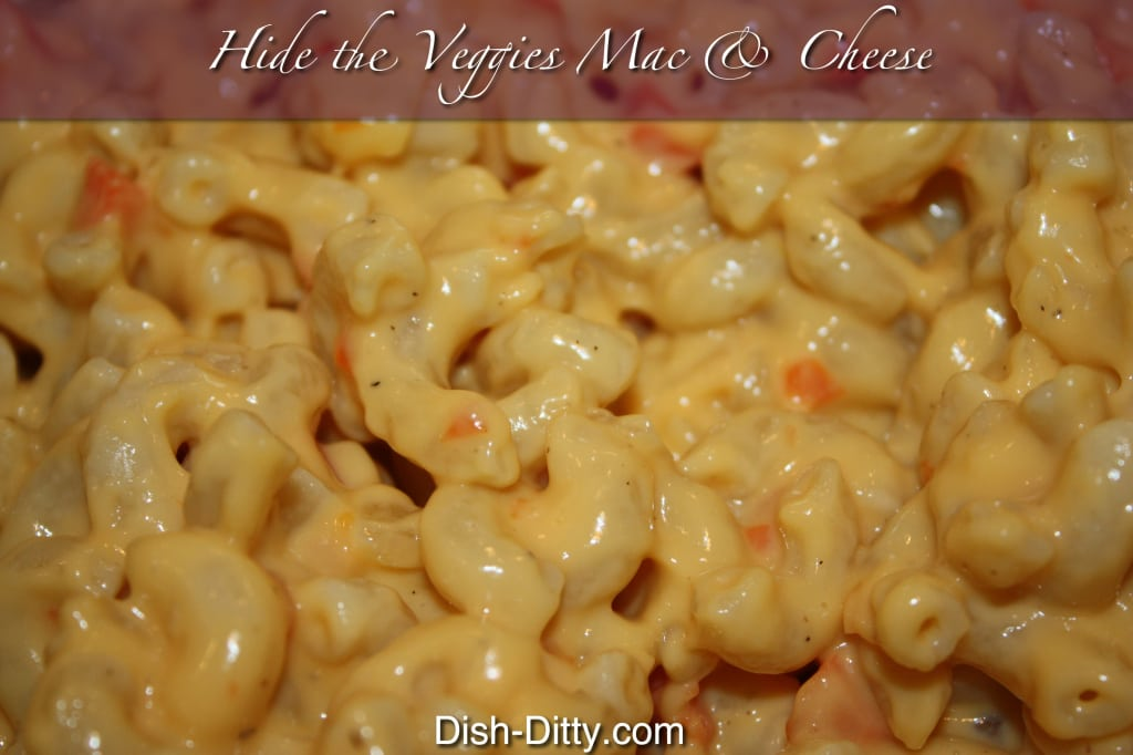 Hide the Veggies Mac & Cheese