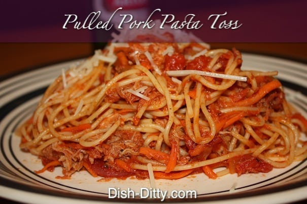 Pulled Pork Pasta Toss