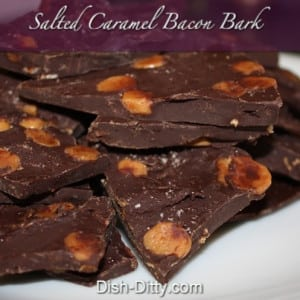 Salted Caramel Bacon Bark