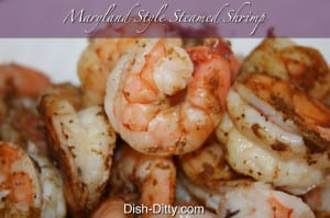Maryland Style Steamed Shrimp