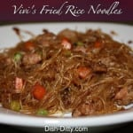 Vivi's Fried Rice Noodles by Dish Ditty