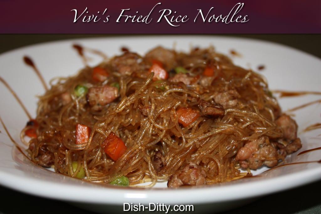 Vivi's Fried Rice Noodles