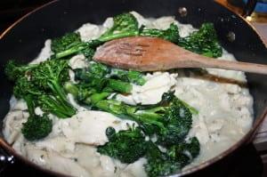Add back broccollette
