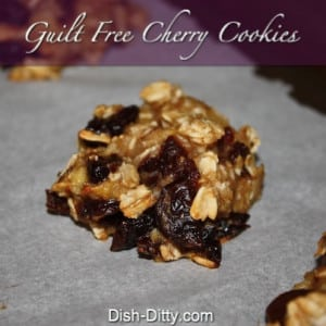 Guilt Free Cherry Cookies