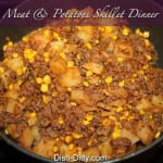 Meat & Potatoes Skillet Dinner by Dish Ditty