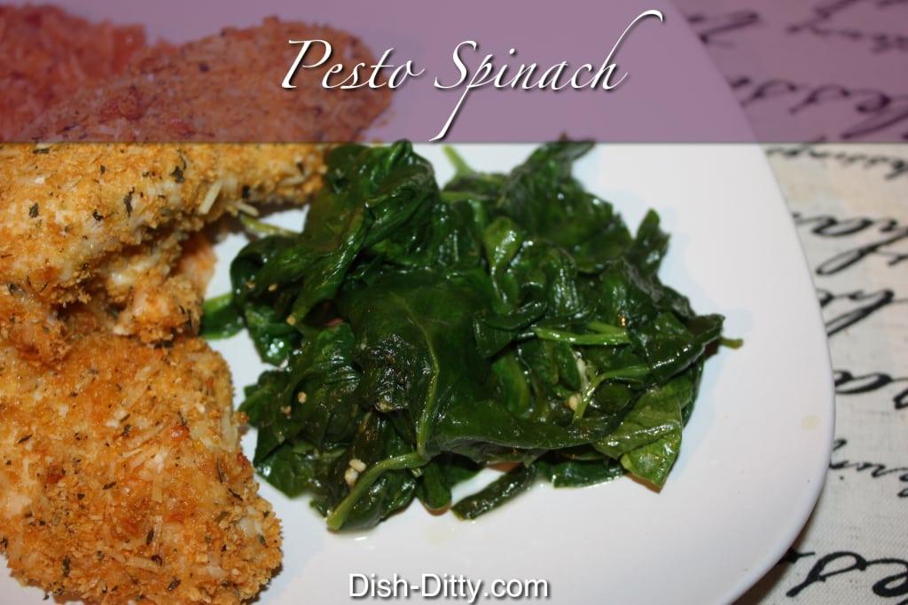 Pesto Spinach