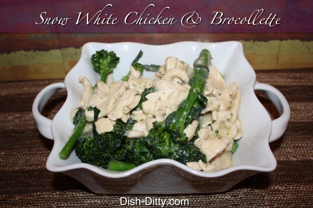 Snow White Chicken Brocollette
