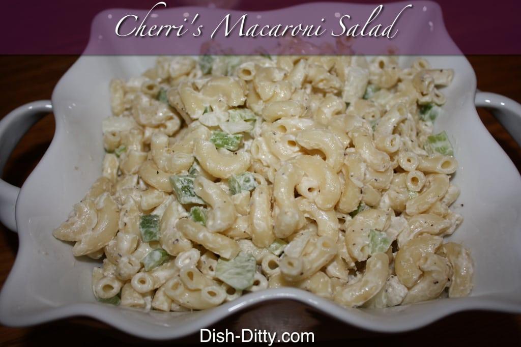 Cherri's Macaroni Salad