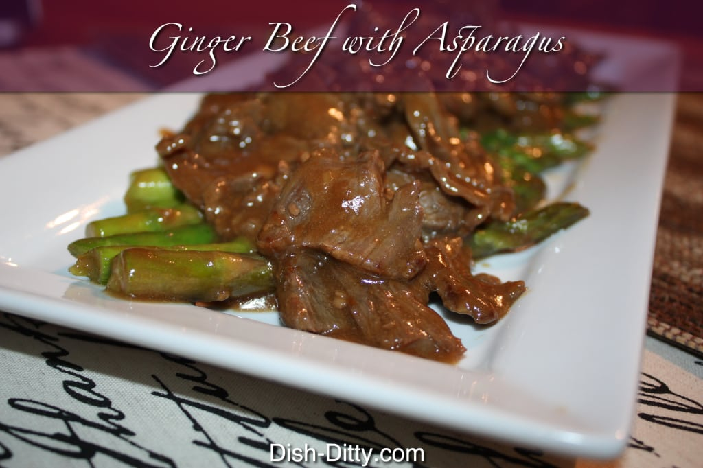 Ginger Beef With Asparagus
