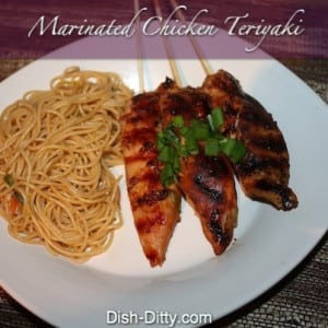 Marinated Chicken Teriyaki