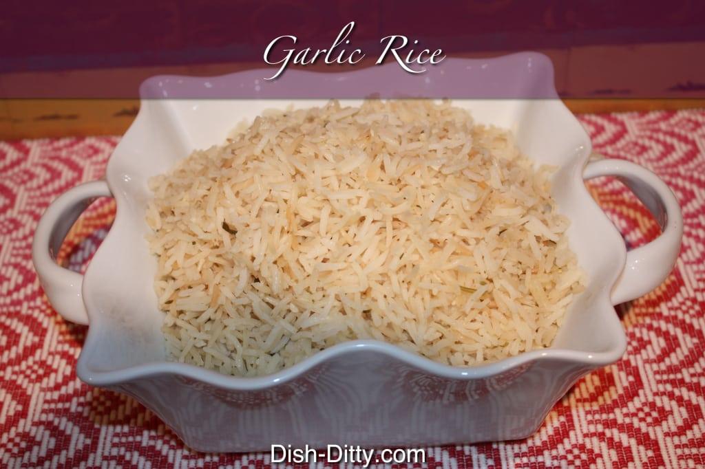 Garlic Rice Recipe by Dish Ditty