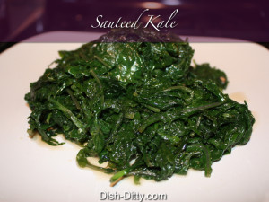 Sautéed Kale by Dish Ditty