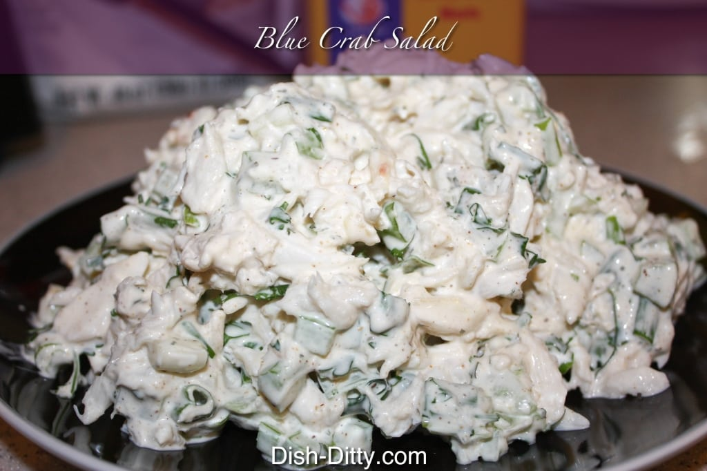 Blue Crab Salad by Dish Ditty