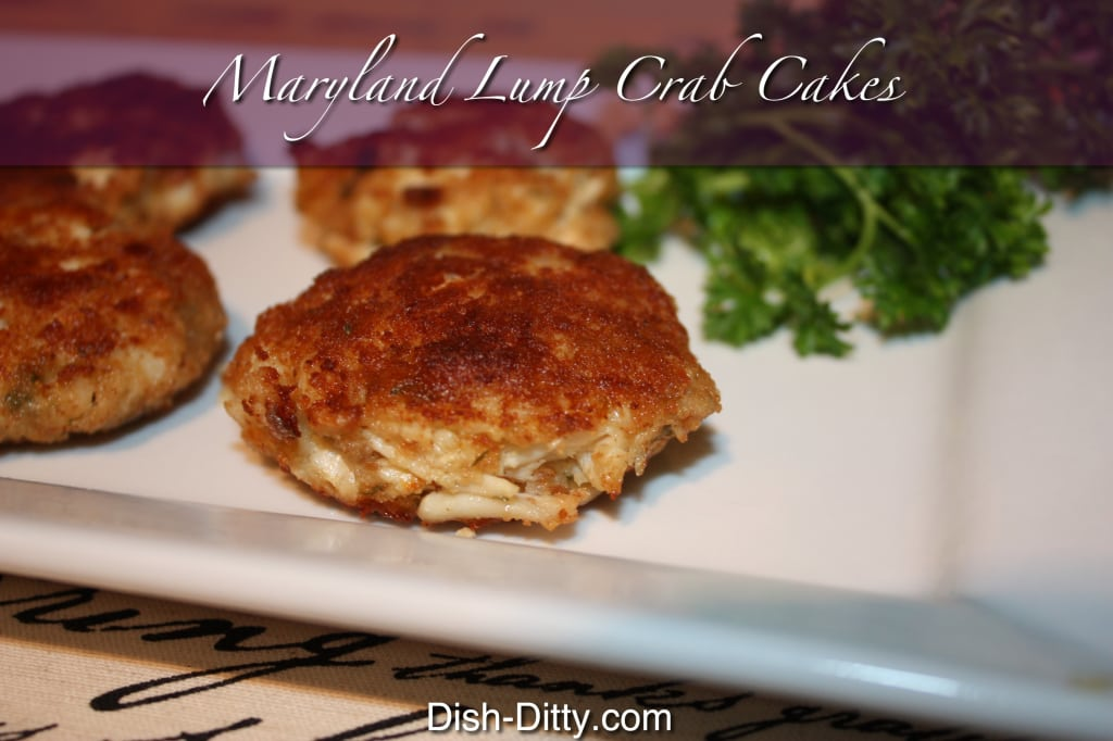 Grandma's Maryland Style Lump Crab Cakes by Dish Ditty