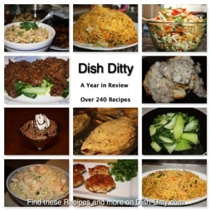 Dish Ditty Recipes: A Year in Review