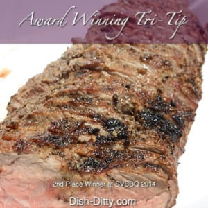 Award Winning Grilled Tri-Tip