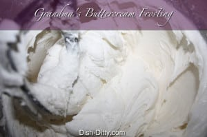 Grandma's Buttercream Recipe